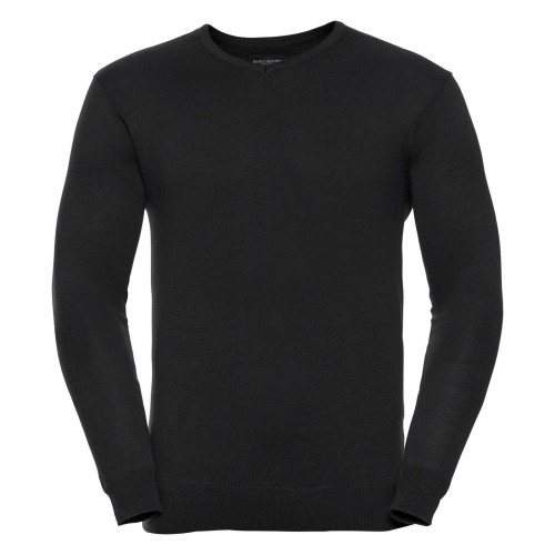 710M Russell Europe Pullover Black