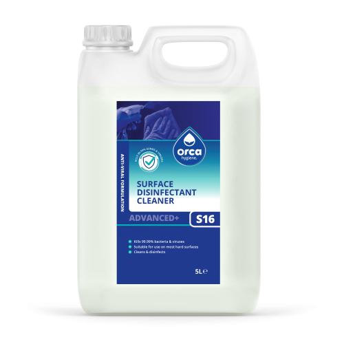Orca 5L Virucidal Disinfectant Screw cap