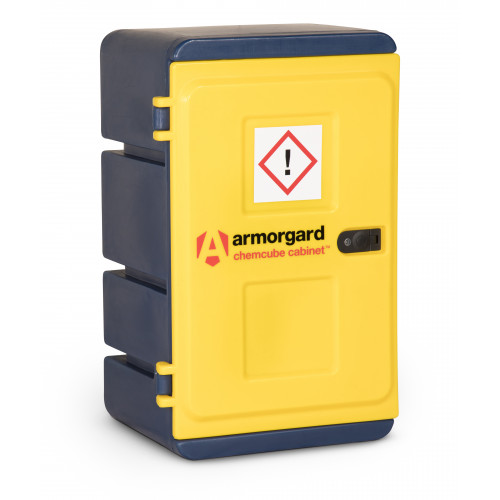 Armorgard Durable Plastic Chemical Cabinet 575x440x910