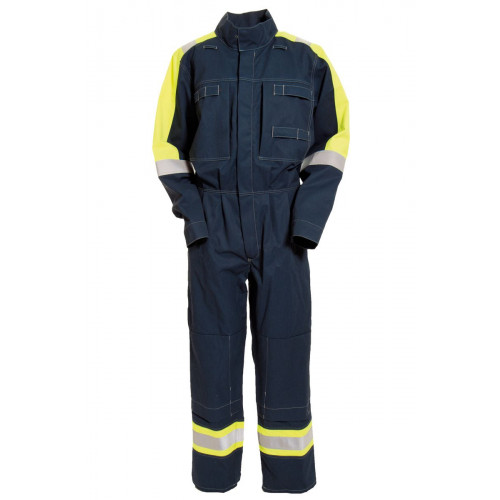 Cantex 5716 Coverall Navy/Yellow
