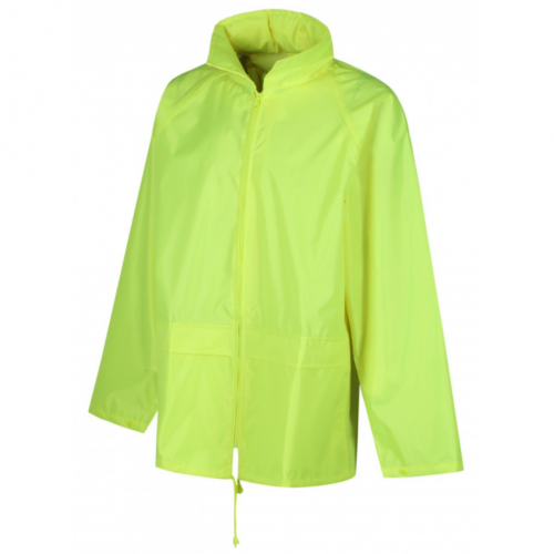Basic Waterproof Jacket Yellow