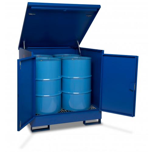 Armorgard 4 Drum Enclosed DrumBank 1420x1345x1290