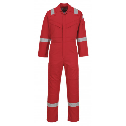 Portwest FF50 Red FRAS Coverall