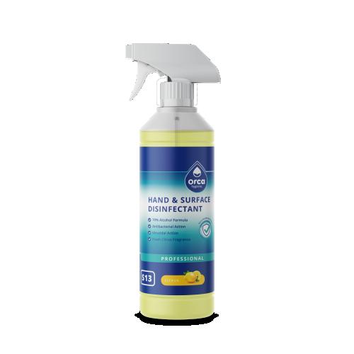 Surface Disinfectant 1L Lemon Burst Trigger Spray