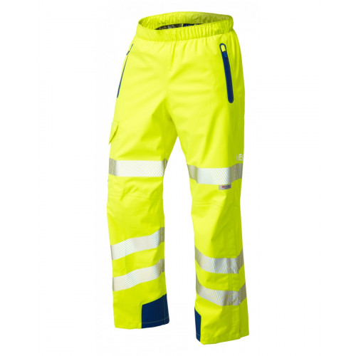 Lundy Hi Vis Overtrouser Yellow