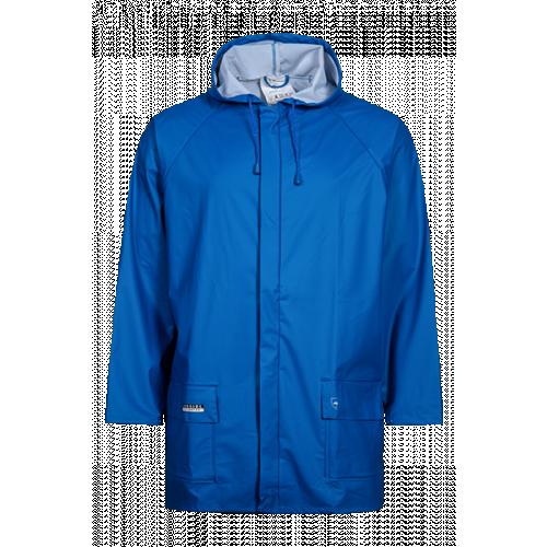 Rain Jacket in PU Royal