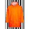 Rain Jacket in PU Hi Vis Orange
